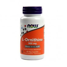 L-Ornithine 500mg (60 caps) NOW