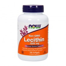 Lecithin 1200 mg (100 softgels) NOW