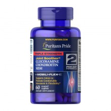 Triple Strength Glucosamine & Chondroitin with MSM (60 caplets) Puritan's Pride