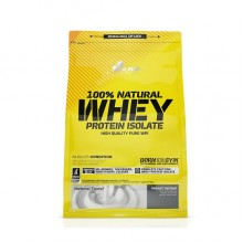 Протеин Изолят Natural Whey Protein Isolate (600 g, natural) 100% OLIMP